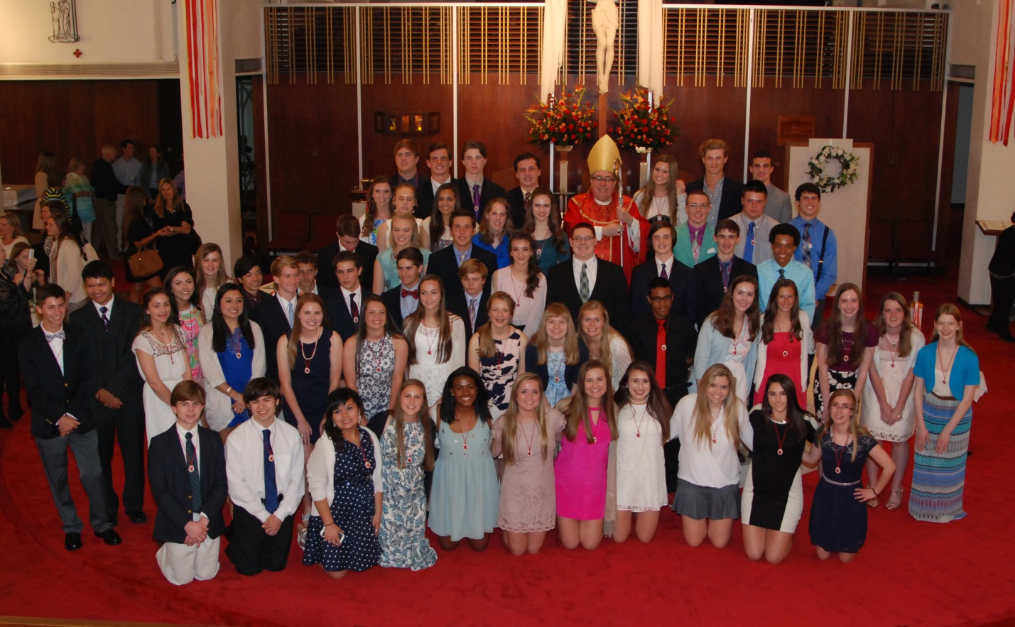 Photo of Confirmation Class 2015